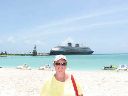 The Flying Dutchman and the Disney Magic behind me