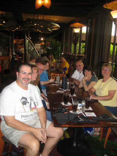 Lunch at Kona Café