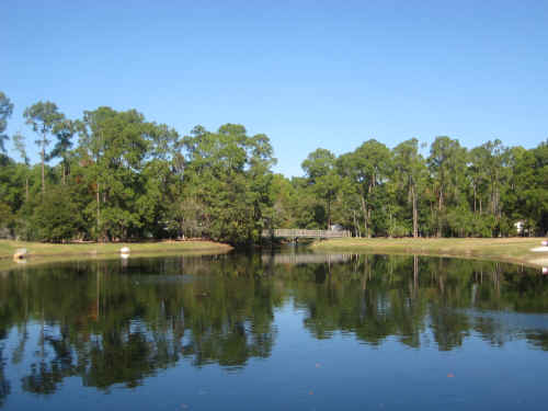 "The pond at ""The Meadows"" in the Fort Wilderness Campground"