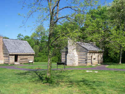 Slave quarters at The Hermitage
