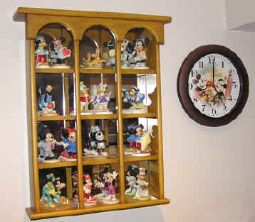 Figurines & Clock